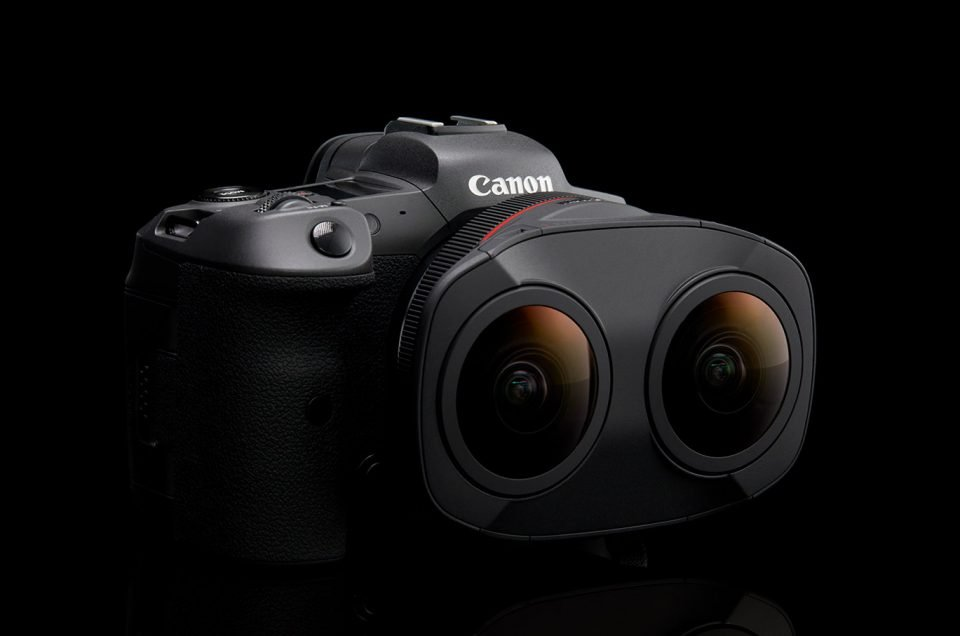 Canon Announces the RF 5.2mm Dual Fisheye Lens for VR Capture