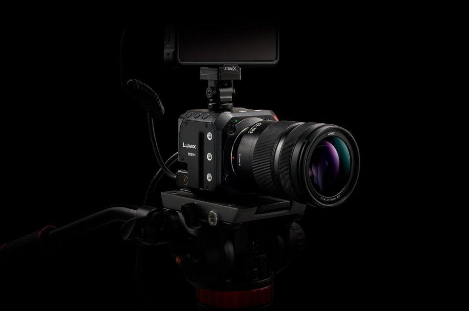 Panasonic Lumix BS1H Full-Frame Mirrorless Box-Style Camera